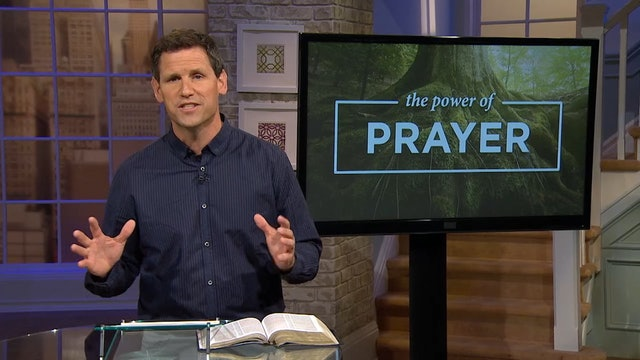 The Power Of Prayer - Pastor Robbie Symons - God Moves Through Prayer