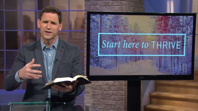 Start here To Thrive - Pastor Robbie Symons - Psalm 1