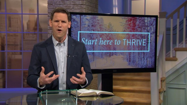 Start here To Thrive - Pastor Robbie Symons - Momentum of the Holy Spirit
