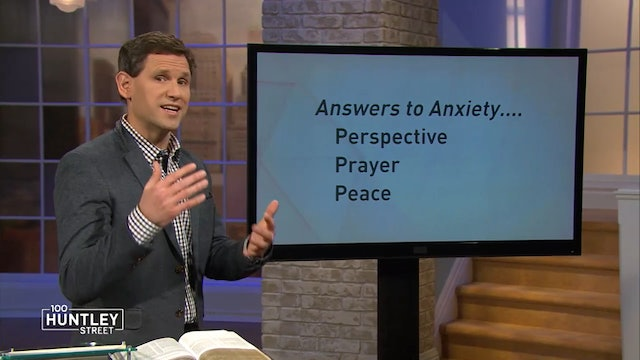 Prayer-less Life is Stressful - Pastor Robbie Symons - Answers to Anxiety