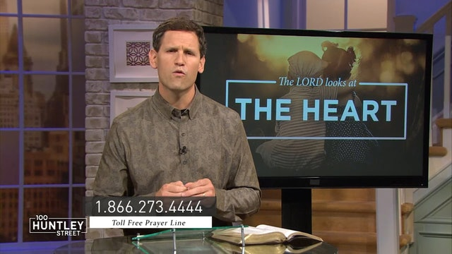 The Lord Looks At The Heart-Pastor Robbie Symons - The Lord Sees Not as Man Sees