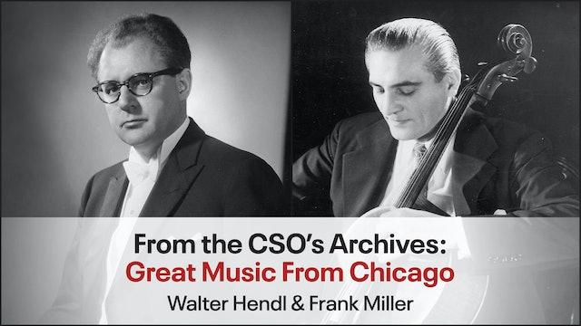 Walter Hendl & Frank Miller