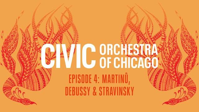 Martinů, Debussy & Stravinsky