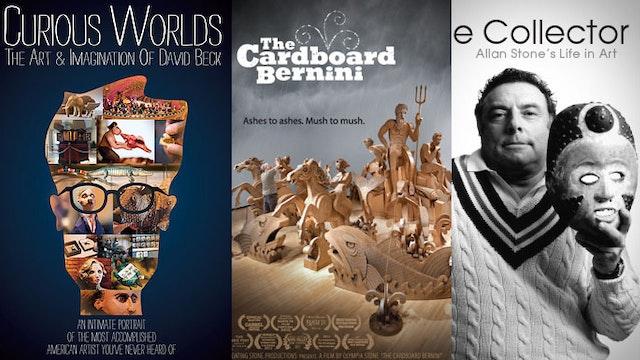 Curious Worlds David Beck + The Cardboard Bernini + The Collector