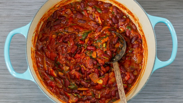 Stewed Red Kidney Beans