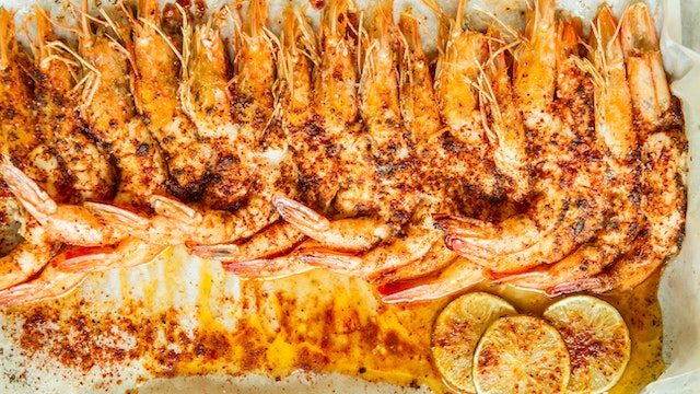 Roasted Prawns