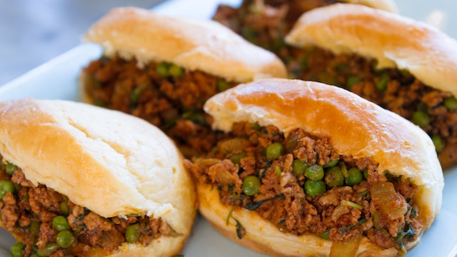Turkey Keema Sloppy Joe