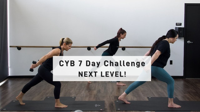 CYB 7 Day Challenge - Next Level