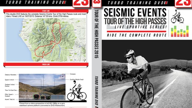 PART 1/2 - CR23: Seismic Events Tour of the High Passes 2015