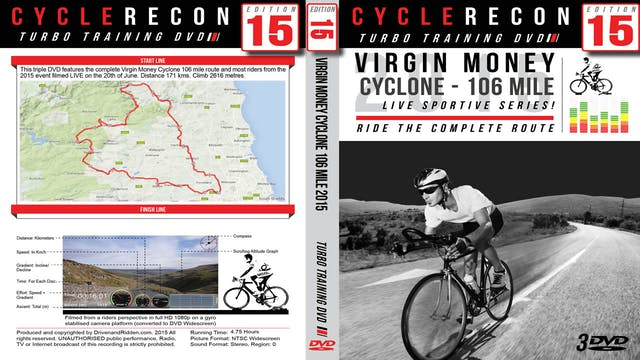 CycleRecon 15: Virgin Money Cyclone 2015 - Turbo Training LIVE!
