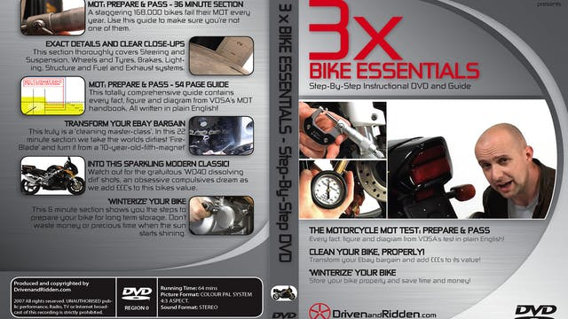 (7) CLEAN YOUR BIKE, PROPERLY and (8) WINTERIZE YOUR BIKE