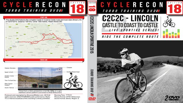 CR18: C2C2C Lincoln 2015 - Castle to Coast to Castle Sportive