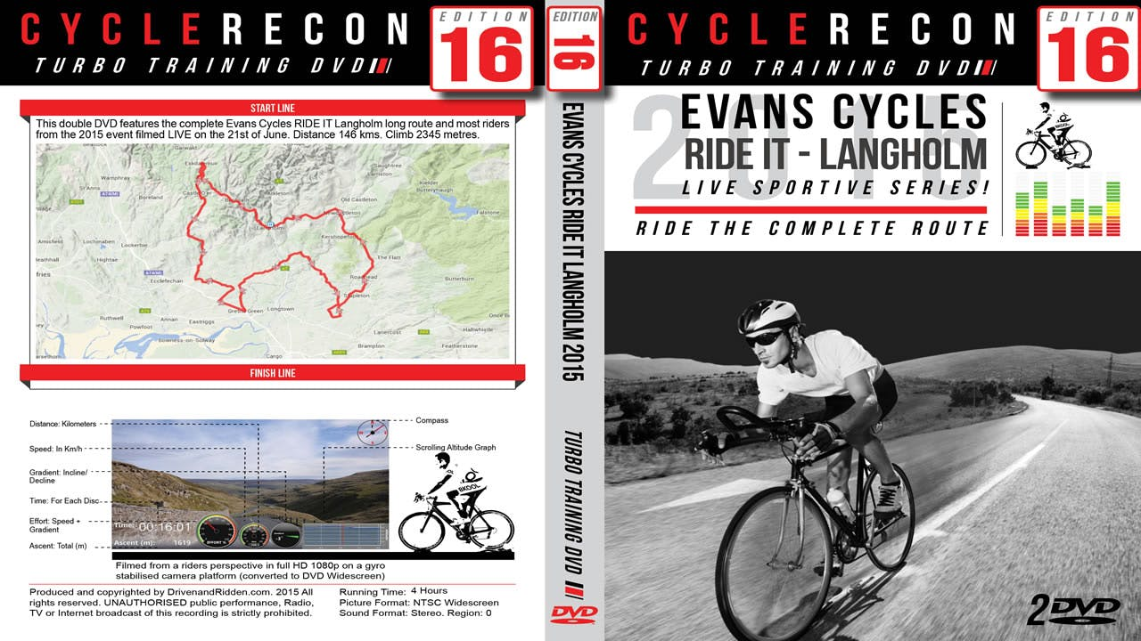 CycleRecon 16: Evans Cycles RIDE IT Langholm 2015 - Turbo Training LIVE!