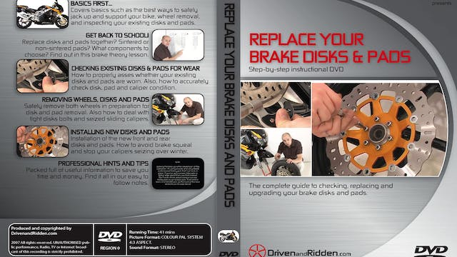 (1) UPGRADE YOUR BRAKE PADS & ROTORS