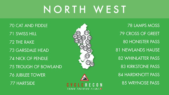 100 Climbs Download - 7. North West