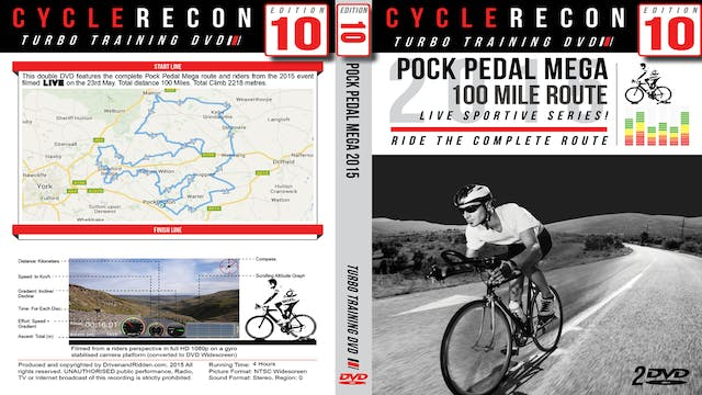 CycleRecon 10: Pock Pedal Mega 2015 - Turbo Training LIVE!