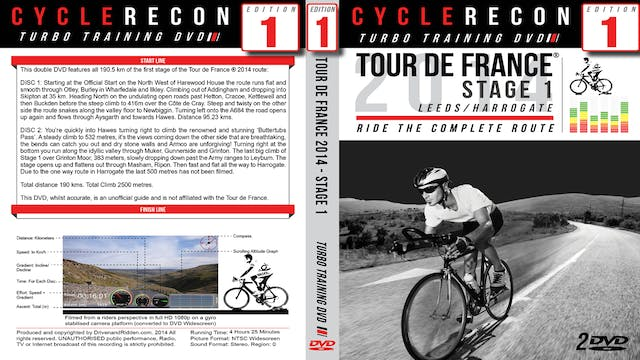 CR1: Tour de France 2014 - Stage 1 - Leeds to Harrogate - Turbo Training Film
