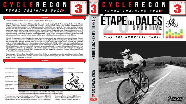 CycleRecon 3: Etape du Dales 2014 - Turbo Training Film