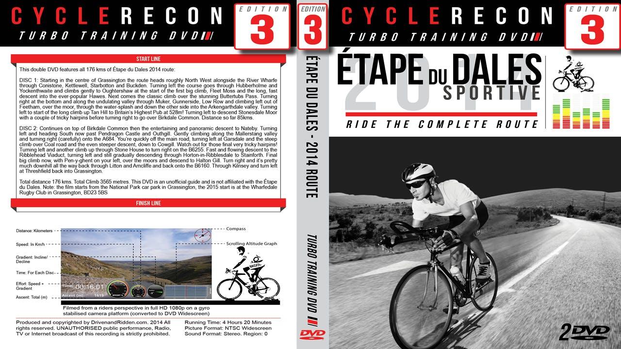 CycleRecon 3: Etape du Dales 2014 - Turbo Training Film