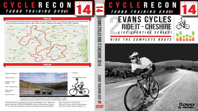 CycleRecon 14: Evans Cycles RIDE IT Cheshire 2015 - Turbo Training LIVE!