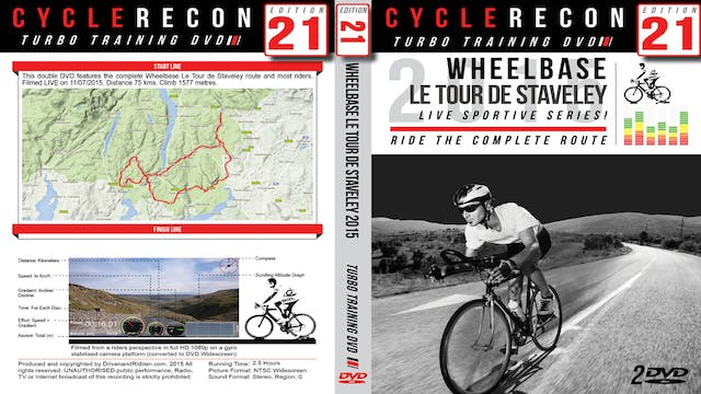 CR21: Wheelbase Le Tour de Staveley 2015 - Lake District