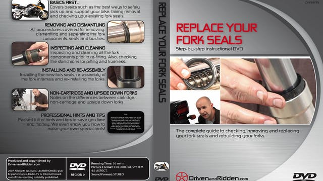 (3) REPLACE YOUR FORK SEALS