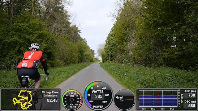 CycleRecon 10: Pock Pedal Mega 2015 Part 1 - LIVE Turbo Training Double