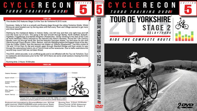 PART 1/2 - CR5: Tour de Yorkshire 2015 - Stage 2 Selby/York