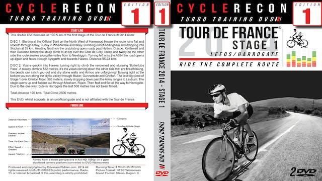CycleRecon 1: Tour de France 2014 Stage 1 - Part 1