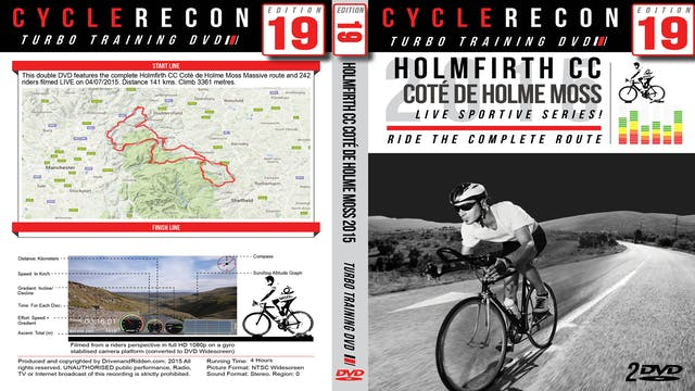 CycleRecon 19: Holmfirth CC - Cote de Holme Moss 2015 Part 2