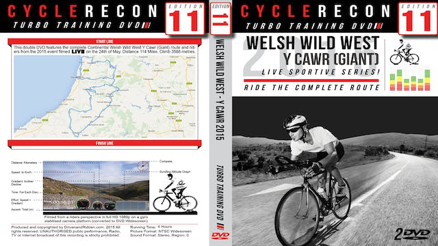 CycleRecon 11: Welsh Wild West Y Cawr (Giant) 2015 - Turbo Training LIVE!