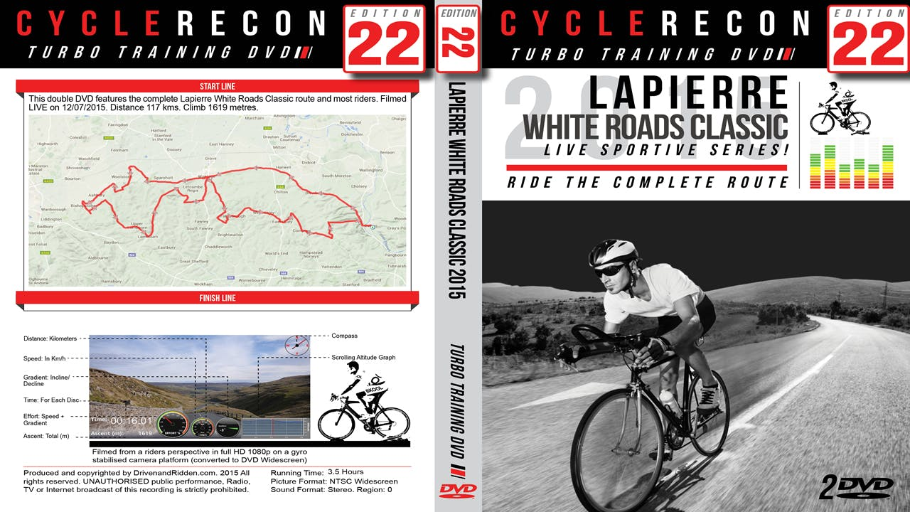2 /& 3 3 x Turbo Training Cycling DVDs Base Building Success 1