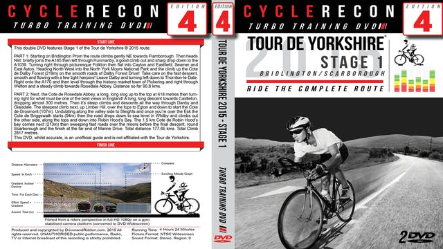 PART 1/2 - CR4: Tour de Yorkshire 2015 - Stage 1 Bridlington/Scarborough