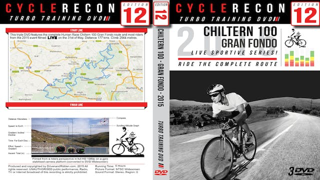 CycleRecon 12: Chiltern 100 2015 - Gran Fondo - Turbo Training LIVE!