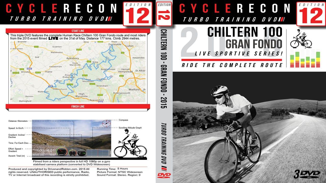 CycleRecon 12: Chiltern 100 2015 - Gran Fondo - Turbo Training LIVE!
