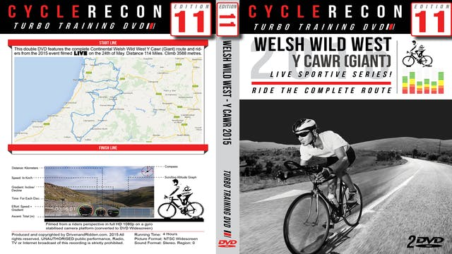 CycleRecon 11: Welsh Wild West Y Cawr (Giant) 2015 - Part 1