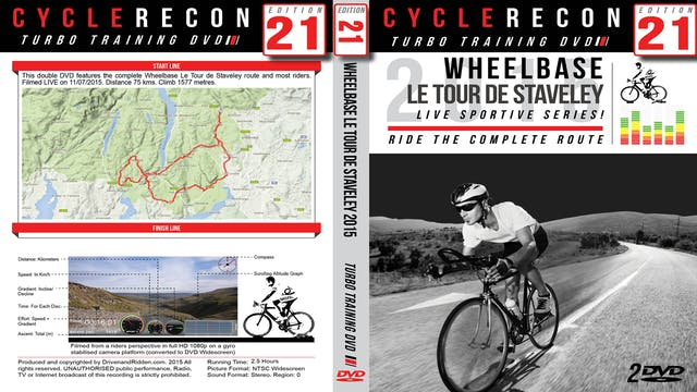 PART 1/2 - CR21: Wheelbase Le Tour de Staveley 2015