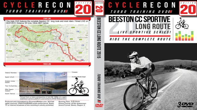 PART 2/3 - CR20: Beeston CC Peak District Sportive 2015