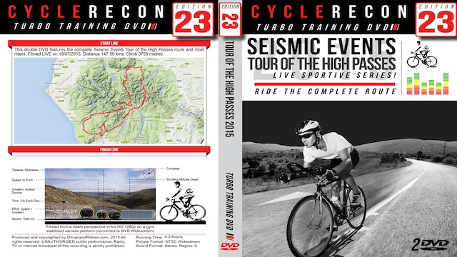 CR23: Seismic Events Tour of the High Passes 2015
