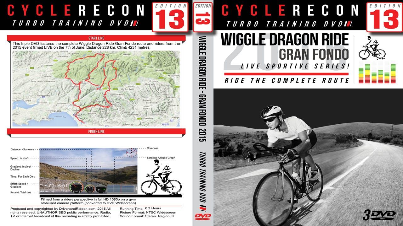 CycleRecon 13: Wiggle Dragon Ride Gran Fondo LIVE!