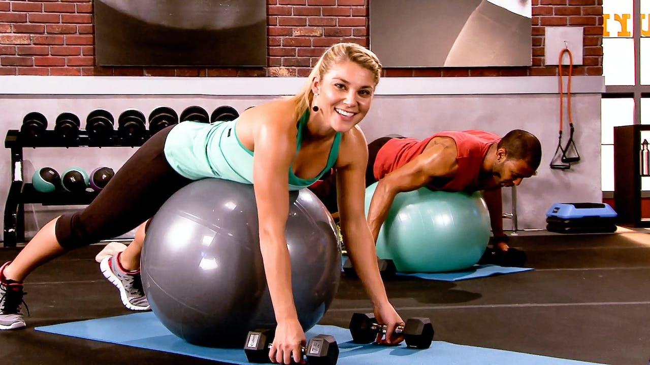Powerball Strength Anja Garcia Daily Burn