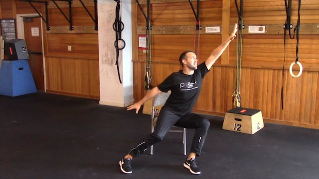 Chair Workout with Nate: Session 2