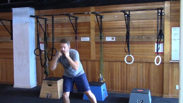 Boxing with Nate: Session 1