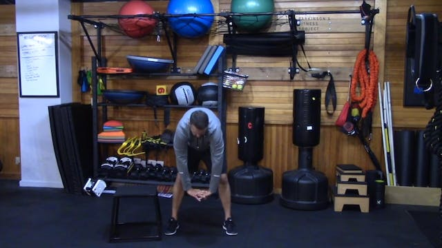 Chair Workout with Nate Session 7