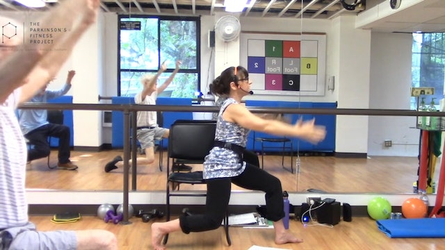 ChairFit Class with France: Session 9, Season 1