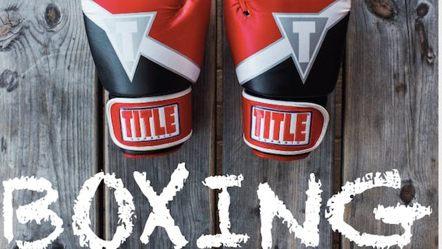 Boxing with Susie: 8.10.21