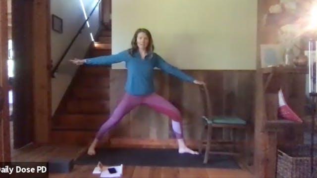 Yoga with Dana: Upper Body Twists (5....