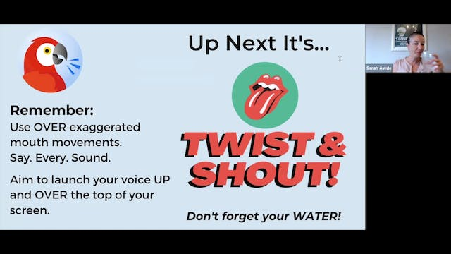 Voice Training: Twist and Shout (6.16...