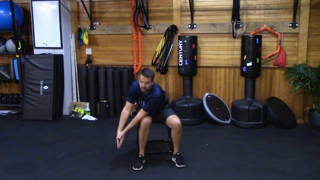 Chair Workout with Nate: Session 6