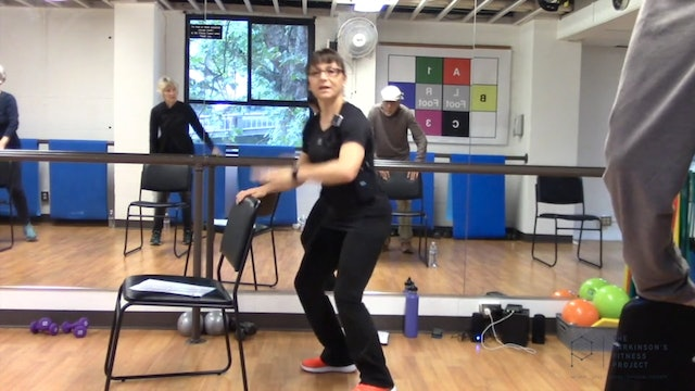 ChairFit Class with France: Session 12, Season 1